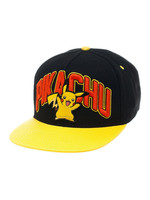 Pokemon - Pikachu Snap Back Baseball Cap