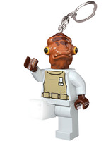 LEGO Star Wars - Admiral Ackbar  Mini-Flashlight with Keychains