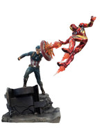 Captain America vs Iron Man Premium Motion Statue