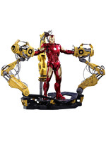 Iron Man 2 - Diecast Iron Man Mark IV & Suit-up Gantry - 1/6