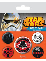Star Wars - Pins 5-Pack Dark Side