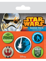 Star Wars - Pins 5-Pack Jedi