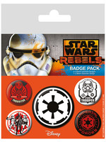 Star Wars - Pins 5-Pack Villains