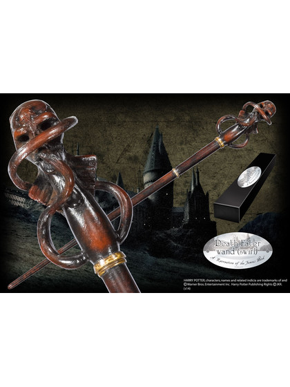 Harry Potter Wand - Death Eater Swirl