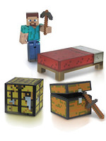 Minecraft - Survival Pack Action Figure