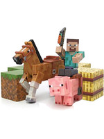 Minecraft - Saddle 5-Pack Action Figures