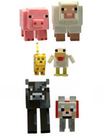 Minecraft - Animals 6-Pack Action Figures