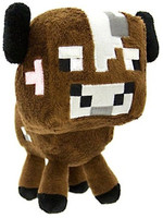 Minecraft - Brown Cow Plush