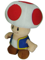 Super Mario - Toad Plush - 20 cm