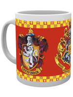 Harry Potter - Gryffindor Crests Mug