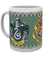 Harry Potter - Slytherin Crests Mug