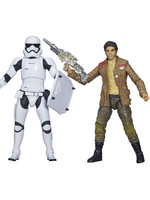Star Wars Black Series - Poe Dameron & Stormtrooper