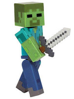 Minecraft - Zombie Action Figure