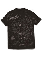 Game of Thrones - T-Shirt Westeros Map