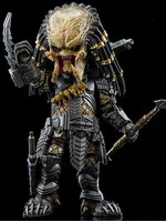 Alien vs Predator - Scar Predator - Hybrid Metal Action Figure