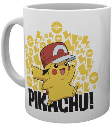 Pokemon - Ash Hat Pikachu Mug