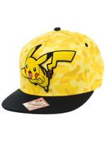 Pokemon - Pikachu Camo Snap Back Baseball Cap