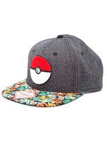 Pokemon - Poke Ball Snap Back Baseball Cap