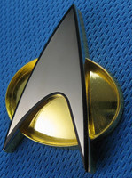 Star Trek TNG - Starfleet Communicator Badge