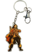 Star Wars Rogue One - Baze Malbus Metal Keychain