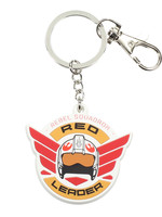 Star Wars Rogue One - Red Leader Rubber Keychain