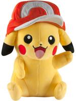 Pokemon - Pikachu with Ash Cap Plush - 25 cm