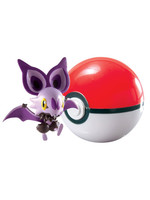 Pokemon - Noibat Clip´n´Carry Poké Ball