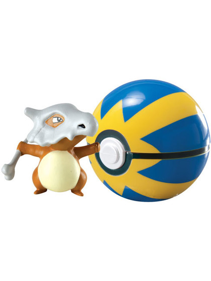 Pokemon - Cubone Clip´n´Carry Poké Ball