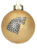 Game of Thrones - Stark Glass Ornament