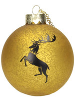 Game of Thrones - Baratheon Glass Ornament