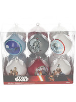 Star Wars - Set of 12 Christmas Scenes Ornaments