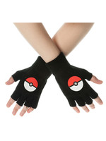 Pokemon - Poke Ball Fingerless Gloves