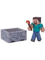 Minecraft - Steve with Minecart