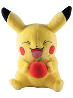 Pokemon - Pikachu with apple Plush - 25 cm