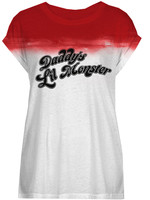 Suicide Squad - Daddy's Lil Monster Ladies Sublimation T-Shirt