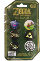 Legend of Zelda - Pins 6-Pack Badges