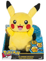 Pokemon - Pikachu Talking Plush - 30 cm