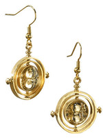 Harry Potter - Time Turner Earrings (gold plated)