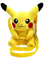 Pokemon - Pikachu Plush Shoulder Bag - 16 cm