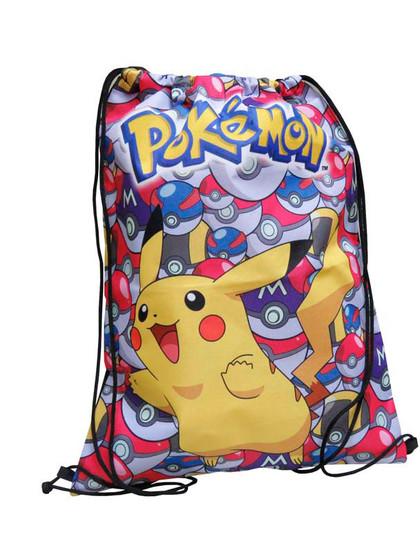 Pokemon - Pikachu with PokéBalls Gym Bag