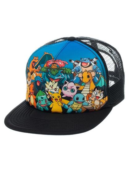 Pokemon - Trucker Cap Characters
