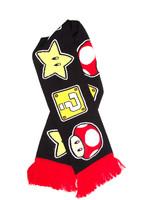 Nintendo - Mushroom, Star & Questionmark Scarf
