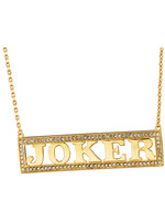 Suicide Squad - Harley Quinn's Joker Necklace (gold-plated)