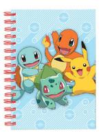 Pokemon - Starters A5 Notebook