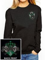 Harry Potter - Slytherin Ladies Crewneck Sweatshirt