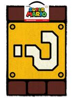 Super Mario - Question Mark Block Doormat