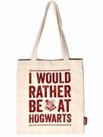 Harry Potter - Hogwarts Slogan Tote Bag