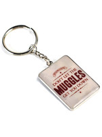 Harry Potter - Gryffindor Muggles Metal Keychain