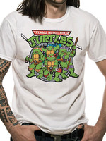 Turtles - Group T-Shirt White