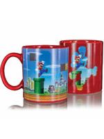 Super Mario - Level Heat Change Mug Red